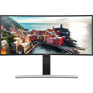 "Samsung S34E790C 34"" Curved Ultrawide QHD LED Monitor, B"