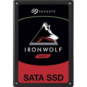 "Refurbished: Seagate Ironwolf 110 ZA1920NM10001 2.5"" SATA 6GB/S 1.92TB SSD"