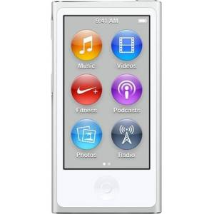 Apple iPod Nano 7th Generation 16GB - Silver, C