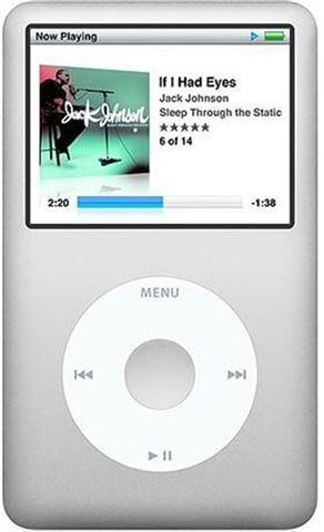 Apple iPod Classic 6th Generation (2009) 160GB - Silver, B