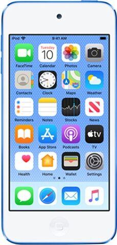 Apple iPod Touch 7th Gen (A2178) 128GB - Blue, B