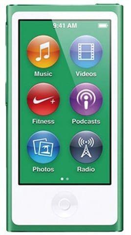 Apple iPod Nano 7th Generation 16GB - Green, B