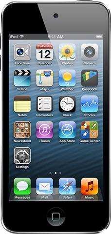 Apple iPod Touch 5th Generation (Without Camera) 16GB - Silver, B