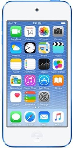 Apple iPod Touch 6th Generation 128GB - Blue, C