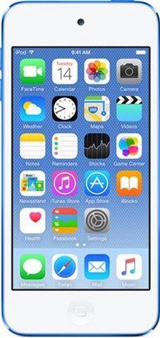 Apple iPod Touch 6th Generation 32GB - Blue, B
