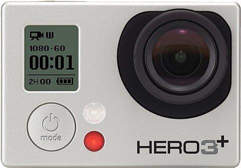 GoPro HD HERO3+ - Silver Edition (No Remote), B