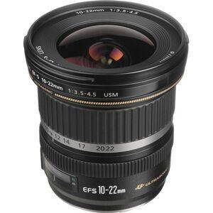 Canon EF-S 10-22mm f/3.5-4.5 USM Black Lens