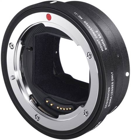 Refurbished: Sigma Mount Converter MC-11 E-EF Lens
