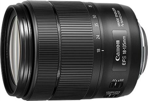 Refurbished: Canon EF-S 18-135mm f/3.5-5.6 IS USM Black Lens