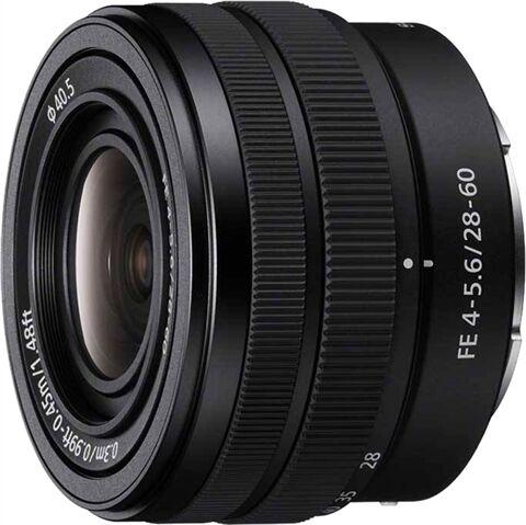 Refurbished: Sony FE 28-60mm f4-5.6 Lens (SEL2860)