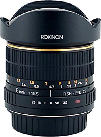 Rokinon Fisheye 8MM f/3.5 AE (Nikon)