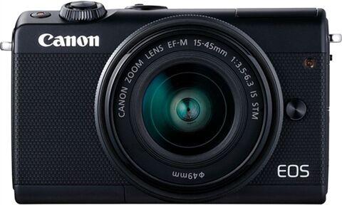 Refurbished: Canon EOS M100 Mirrorless Camera + 15-45mm + EF-M 22mm, A
