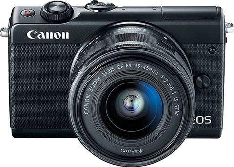 Refurbished: Canon EOS M100 Mirrorless Camera + 15-45mm, B