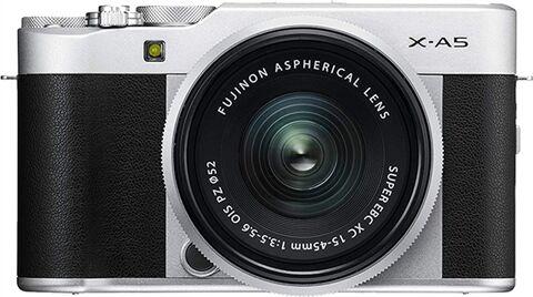 Refurbished: Fujifilm X-A5 24.2MP Mirrorless Camera (Body Only) - Black, B
