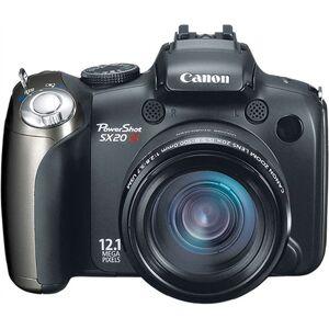 Refurbished: Canon PowerShot SX20 IS 12.1M, B