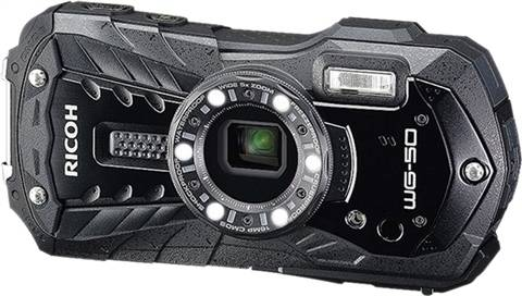 Refurbished: Ricoh Caplio WG-50 Waterproof Camera 16MP, B