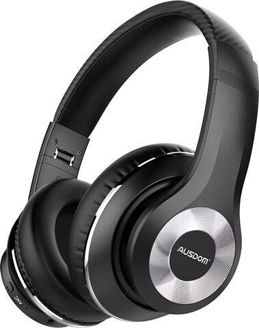 Ausdom ANC10 Wireless Over-Ear - Black, A