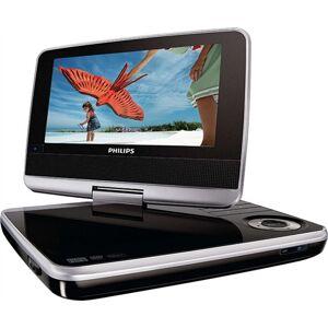 "Philips PET742 7"" Portable DVD Player, C"