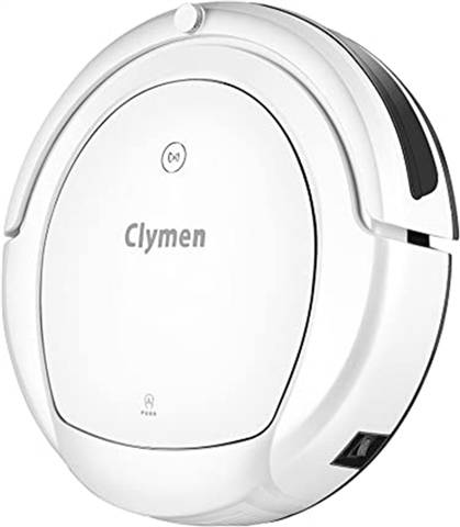 Clymen Q9 Robot Vacuum Cleaner With Alexa Support (White), A