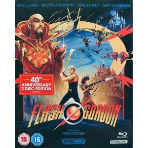 Flash Gordon 4K UHD Collector`s Edition(15) 4K UHD+BR 5Discs