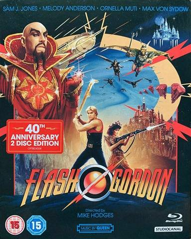 Flash Gordon 4K UHD Collector`s Edition(15) 4K UHD+BR 5Discs