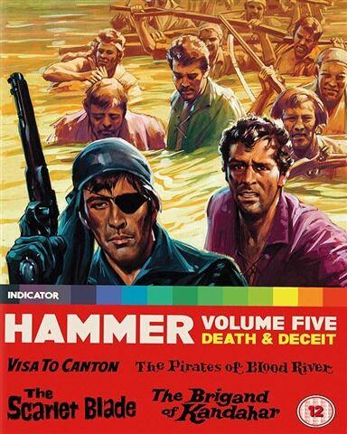 Hammer Volume Five: Death & Deceit (12) 4 Discs