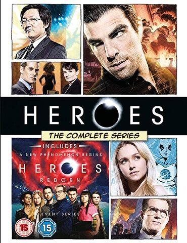 Heroes: Seasons 1-4/Heroes Reborn (15) 21 Disc