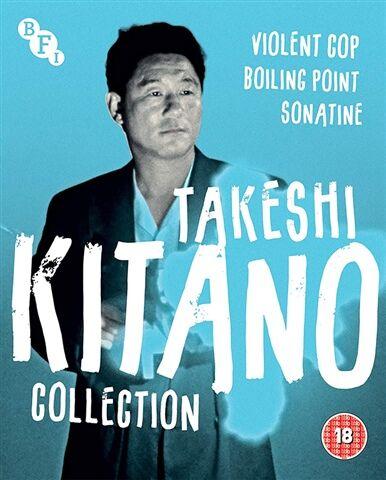 Takeshi Kitano Collection (18) 3 Disc
