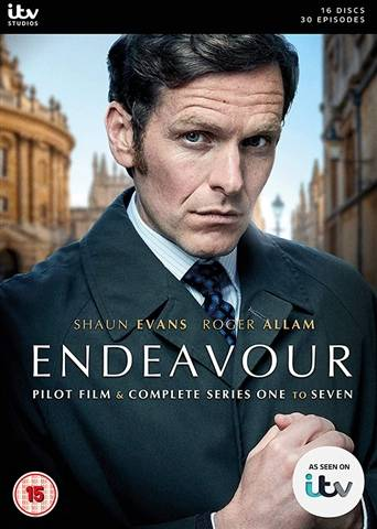 Endeavour Series 1-7 (15) 16 Discs