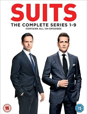 Suits - Seasons 1-9 (15) 35 Discs
