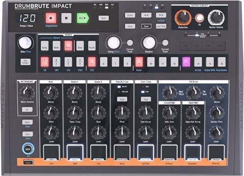 Refurbished: Arturia DrumBrute Impact Analog Drum Machine, B
