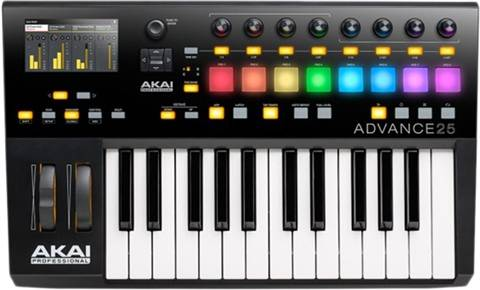 Refurbished: Akai Professional Advance 25 Keyboard Controller, B
