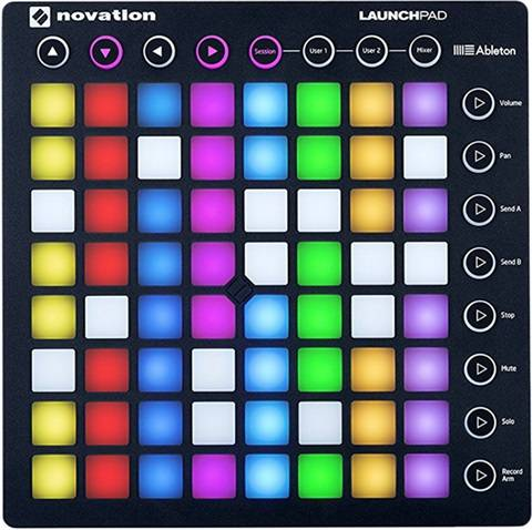 Novation Launchpad Mk2 Ableton Live MIDI Controller, A
