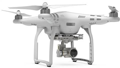 Refurbished: DJI Phantom 3 Advanced (HD Action Camera) Quadcopter, A