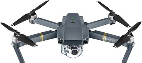 Refurbished: DJI Mavic Pro (4K Stabilized Camera) Foldable Quadcopter, B