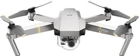Refurbished: DJI Mavic Pro Platinum (4k Camera) Foldable Quadcopter, B