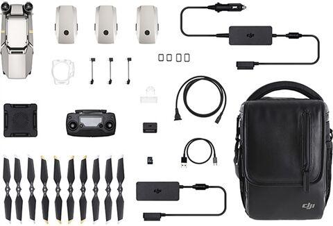 Refurbished: DJI Mavic Pro Platinum (Fly More Kit) Foldable Quadcopter, B