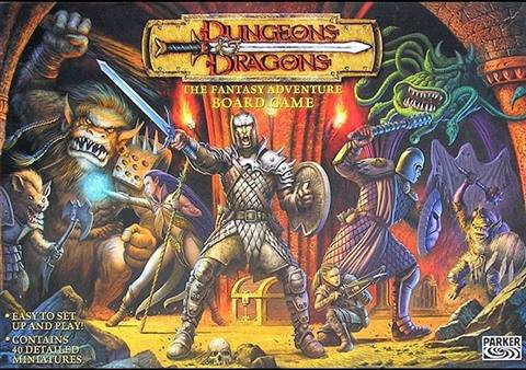 Refurbished: Dungeons & Dragons: The Fantasy Adventure Board Game (2003), Good