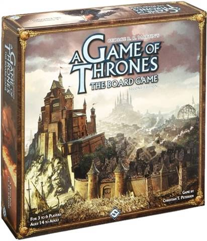 Game of Thrones: The Board Game Second Edition (2011), Mint