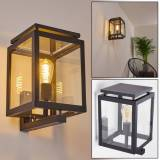 hofstein GREENSBORO Outdoor Wall Light black, 1-light source - cottage, modern - outdoors - Expected delivery time: 10-14 working days