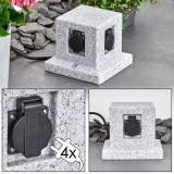 hofstein MALABO outdoor socket stone appearance - cottage - outdoors - Expected delivery time: 6-10 working days