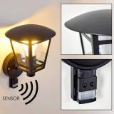 hofstein SIERA outdoor wall light black, 1-light source, Motion sensor - classic - outdoors - Unknown delivery time