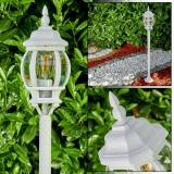 hofstein Lentua outdoor Floor Lamp white, 1-light source - antique, cottage - outdoors - Unknown delivery time
