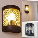 hofstein Outdoor Wall Light Clapham black, 1-light source - modern - outdoors - Expected delivery time: 2-3 weeks