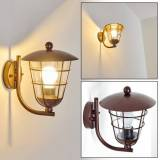hofstein SONVIL Outdoor Wall Light brown, 1-light source - rustic - outdoors - Expected delivery time: 6-10 working days