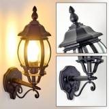 hofstein LENTUA outdoor wall light black, 1-light source - classic - outdoors - Expected delivery time: 6-10 working days