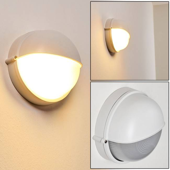 hofstein UGE Outdoor Wall Light white, 1-light source - Basic - outdoors - Expected delivery time: 6-10 working days