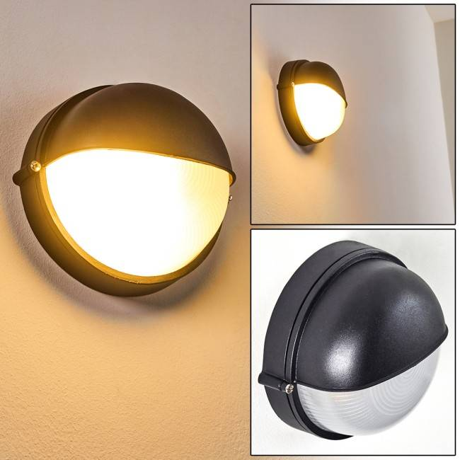 hofstein Outdoor Wall Light Uge black, 1-light source - modern - outdoors - Expected delivery time: 6-10 working days
