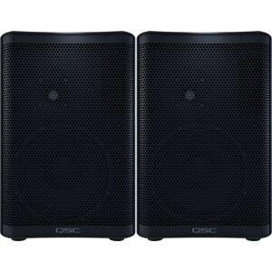 QSC CP8 Pair Compact Powered Speaker (Pair)