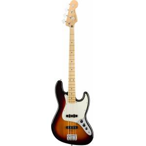 Fender Player Jazz Bass 3-Color Sunburst Maple Fingerboard